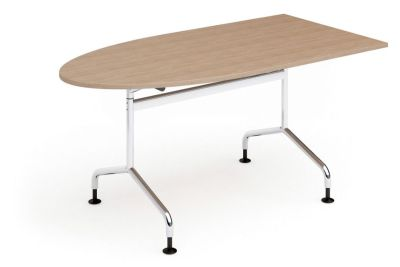 Tamar D End Flip Top Table With Glides