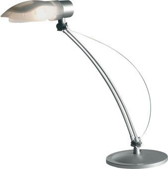 Study Desk Lamp In Silver