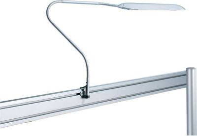 Delta Desk Lamp In Aluminium With-a Clamp