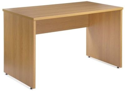 Dynamo Rectangular Computer Desk With Side Panel Leg And Modesty Panel