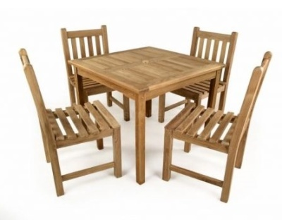 Coventry Teak Outdoor Dining Set