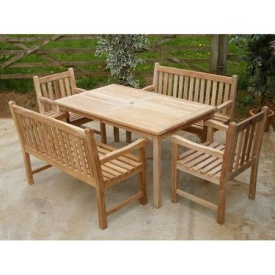 Welbec Outdoor Tesk Dining Set