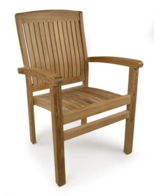 Rochester Teak Outdoor Armchair