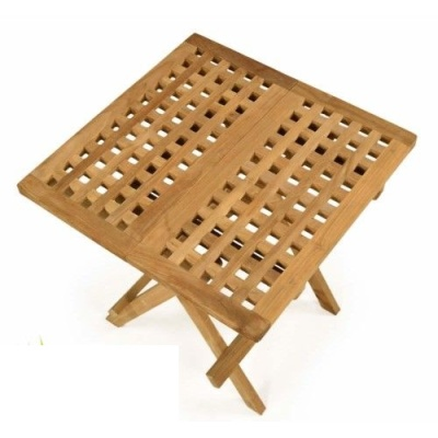 Lloyd Square Teak Folding Table