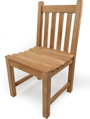 Dover Teak Wooden Side Chair