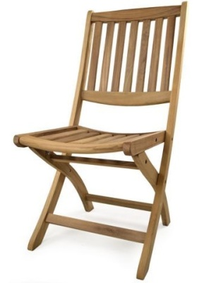 Chatham Folding Teak Side Chair