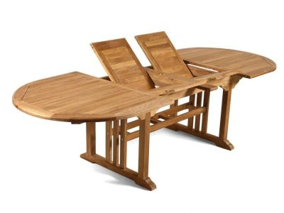 Leicetsre Extendable Teak Dining Table