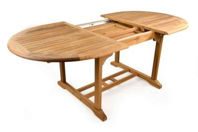 Jacob Extendable Teak Outdoor Table