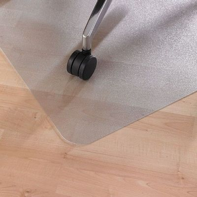 Cleartex Pvc Mat For Hard Floors To Protect The Floor From Damage