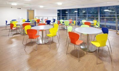 Piazza Polypropylene General Purpose Chair In Dining Room In-array Of Colours