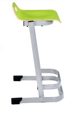 35 Series High Stools In Green Side View