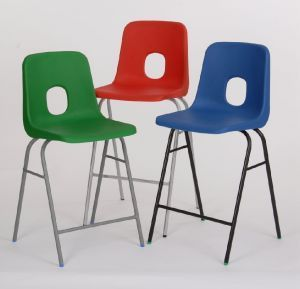 Ethel Laboratory Stool In Red Blue Green