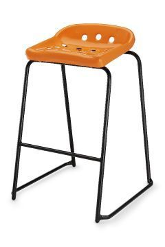 Pepperpot Laboratory Stools In Orange