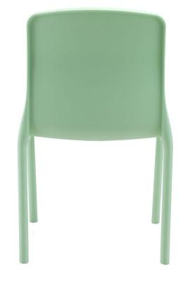 Titan Plus Lime Green Poly Chair Rear View