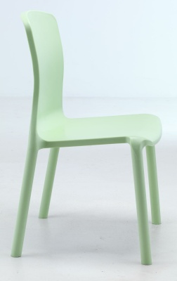 Tkitan Plus Lime Green Anti Bacterial Poly Chair