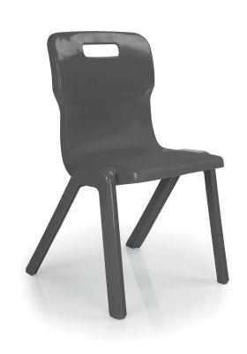 Titan Plus Anti Microbial Chair In Charcoal