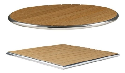 Like Wood Teak Effect Table Tops