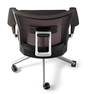 Designer Task Chair With Mesh Back With Optional Lumbar Support