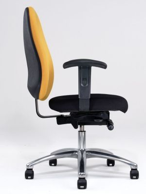 Dino Mixed Colours Office Chair With Large Adjustable Backrest