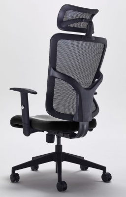 Kempes Designer Mesh Chair Rear Angle