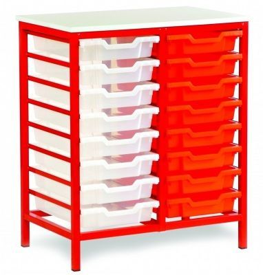 Static-Metal-Classroom-Tray-Storage -compressor