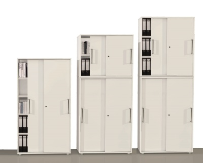 Remo Extra High Sliding Door Cabinets