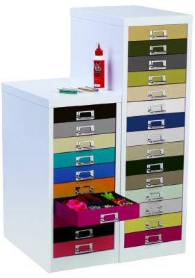 S Line Rainbow Multidrawer Cabinets