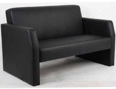 Ester Black Leather Sofas