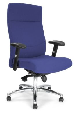 Blue High Back Ergonomic Chair
