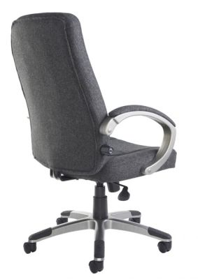Charcoal Executive Fabric Chair