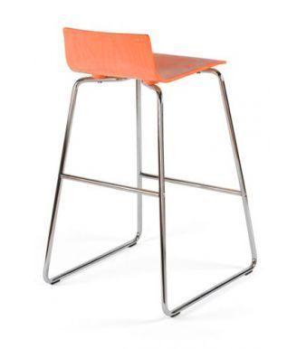 Piazza 7 Designer High Stool Laminated Seat