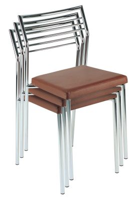 Stack Of Caldo Bistro Chairs