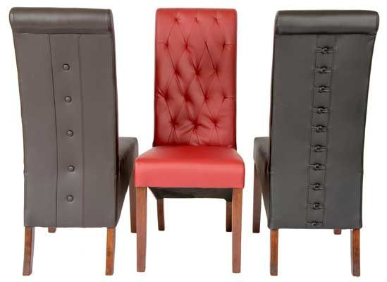 Cheap All Leather Dining Chairs Eton Online Reality