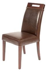 Rumwell Dining Chair Dark Brown