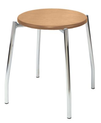 Grappoo Low Stool Wooden Seat