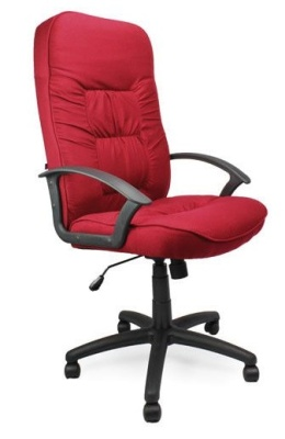 Gloucester Executive Red Fabric Chair