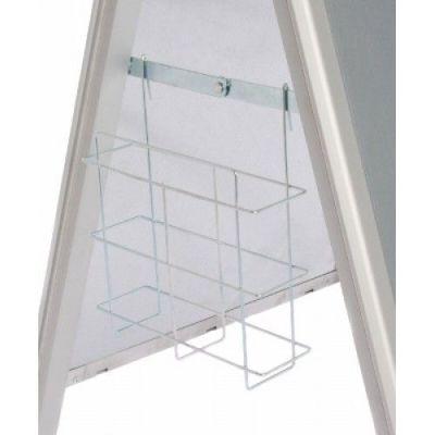 Side Hung Storage Basket For Premier A Frame Signs