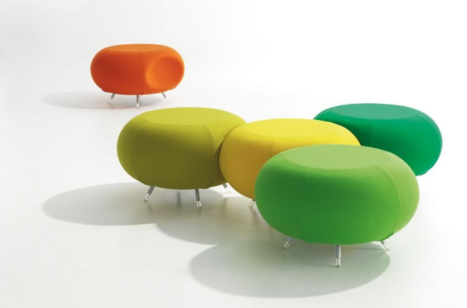 Modular Classroom Seating : Modular breakout seating pebbles round band