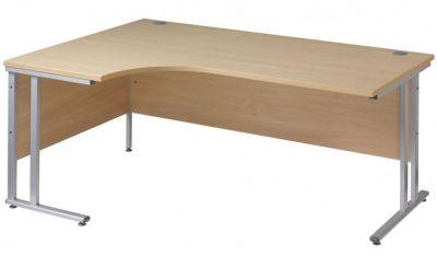 Gm Corner Desk With A Cantilever Frame