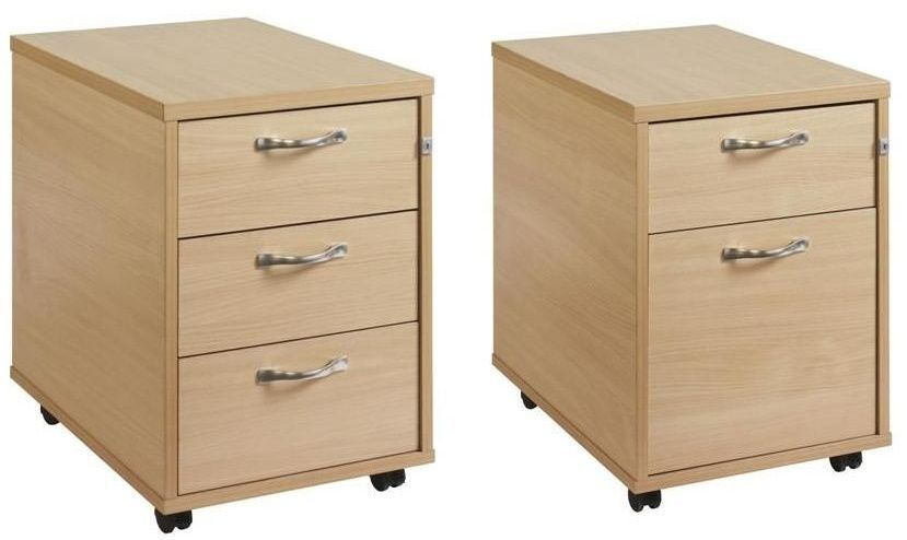 Mobile Wooden Pedestals Gm 2 Drawer Online Reality