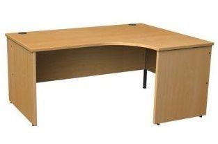 Gm Right Hand Beech Corner Desk