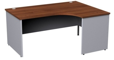 Duplex Right Hand Corner Desk