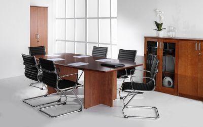 Contessa Executive Boardroom Table Installation