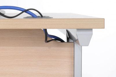 Viva Desk Cable Management Detail