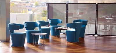 Staff Room Using Blue Bison Break Out Seating