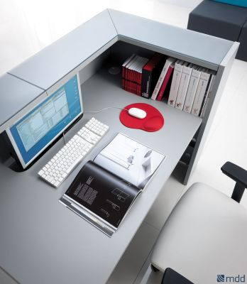Lx Reception Desk Rear View