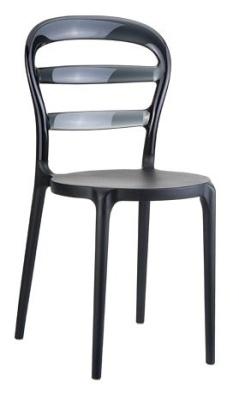 Miss Bibi Black Seat And Black Back
