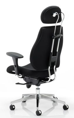 Chiro Plus Ergonomic Chair Rear Angle