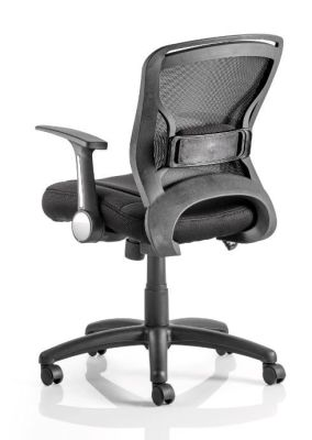 Zinco Mesh Task Chair Rear View