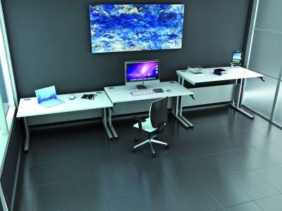 Avalon Height Adjustable Desks Install Shot
